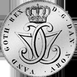 1777 Reichs Spezies Taler Münze Silber
