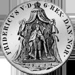 Reichs Taler Spezies 1747 Münze Silber