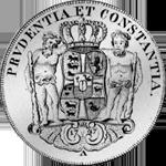 Spezies Reichs Taler Silber Münze Rückseite 1747