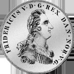 Reichs Taler Kurant Münze Silber 1749