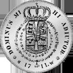 Reichs Taler Silber Kurant Münze 1711