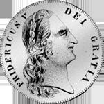 1747 Krone Silber Münze