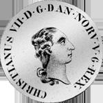 1787 Taler Spezies 2/3 Münze Silber