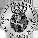 Rückseite Münze Silber 1/5 Spezies Taler 24 Schillinge