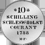 1/6 Spezies Taler 1788 Silber Münze