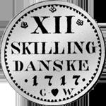 1717 Taler Spezies 1/12 Münze Silber
