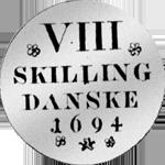 1694 Silber Münze 1/12 Spezies Taler