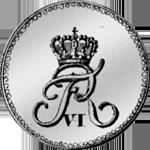 Rückseite Münze Silber 1/24 Spezies Taler 1819