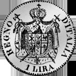 1808 Münze Silber 1 Frank Rückseite