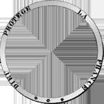 1848 Münze Silber Fünf Franken Stück Umschrift