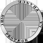1830 Zwei Franken Stück Münze Umschrift Silber
