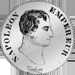 Zwei Franken Stück Silber Münze 1804