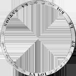 Umschrift Silber Münze 6 Livres Taler 1792