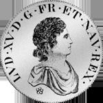 1716 Ecu Blanc a la couronne Silber Münze