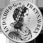 Ecu Silber Blanc Lois Münze Argent 1652