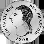 1732 Silber Münze 15 Sols