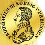 Einfacher Friedrichsdór (Pistole) 1822 Gold Münze