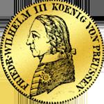 Friedrich Willhelm III. 1800 Goldmünze