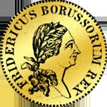 Friedrichsdór (einfach) 1776 (Pistole) Gold Münze