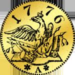 Rückseite Friedrichsdór 1776 (Pistole) Münze Gold