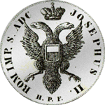 1776 Kurant Mark Silber Münze 3 Taler