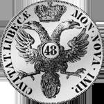 1752 Silber Münze Kurant Taler Mark 3