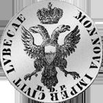 2 Mark Stück Silber Münze 1797