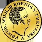 Gold Doppelter Friedrichsdór 1841