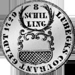 1729 Stück Mark Silber 1/2 Münze
