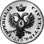 1728 Münze Schilling Mark Stück 1/4 Silber