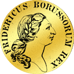 Friedrichsdór (doppelt) 1775 Gold Münze