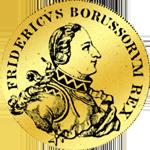 Gold Münze Doppelter Friedrichsór von 1751