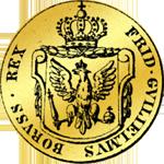 Rückseite I Dukat von 1787 Gold Münze