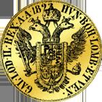 1823 Münze Gold Souverain Sovrano