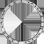 Umschrift Kurant-Taler 1848 Silber Münze