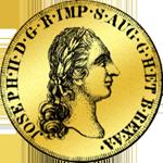 1781 Doppia Pistole Münze Gold