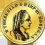 Alte Doppia 1778 Gold Münze