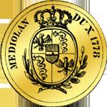 Gold Münze Alte Doppia 1778