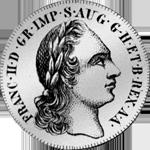 30 Münze Silber Soldi Stück 1800