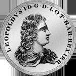 Ehemaliger lothringischer Leopoldstaler Silber Münze 1710