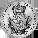 1710 Leopoldstaler lothringischer ehemaliger Münze Silber