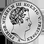 Mansfeldischer Kurant-Taler 1829 Silber Münze