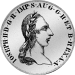 1785 alte Lire Scudo Silber Münze