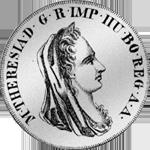 1780 6 Alte Lire Scudo i Lire sei 1780 Silber Münze