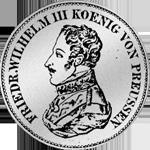 Kurant-Taler Silber 1820 Münze