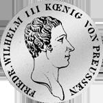 Reichs- oder Kurant-Taler 1816 Silber Münze
