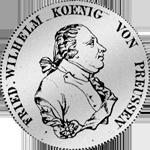 Kurant-Taler 1795 Silber Münze