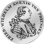 Reichstaler 1790 Silber Münze
