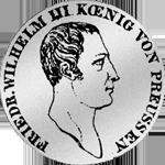 1/3 Kurant oder Reichstaler 1809 Silber Münze