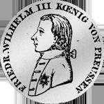 1/3 Kurant oder Reichs Taler 1800 Silber Münze